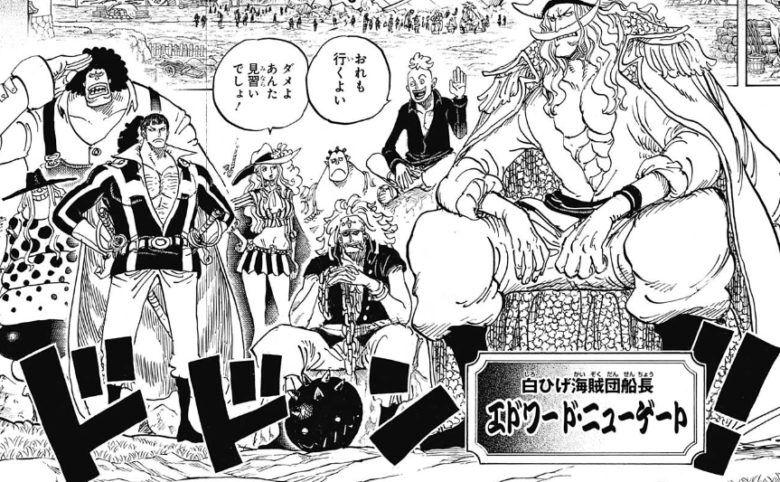 30年前の白ひげ海賊団